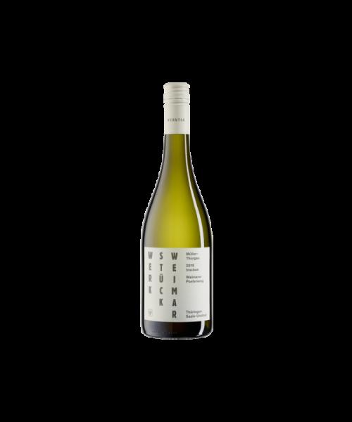 2020 Müller-Thurgau  Weimarer Poetenweg   Deutscher Qualitätswein  (trocken, 0.75l) WINZERVEREINGUNG FREYBURG-UNSTRUT