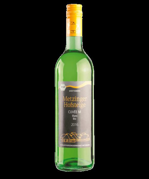 2016 CUVÉE M BLANC BIO TROCKEN Metzinger Wein