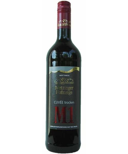 Rotwein-Cuvée M1 TROCKEN Metzinger Wein