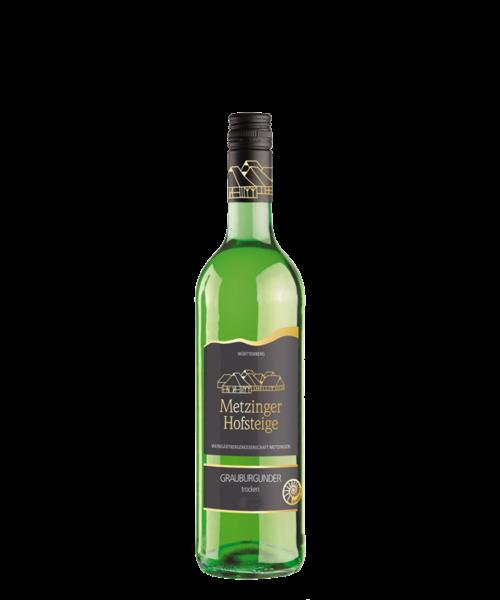 2019 GRAUBURGUNDER TROCKEN Metzinger Wein