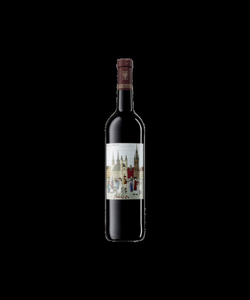 """2018 Dornfelder  """"Stadt Halle""""  Deutscher Qualitätswein  (trocken, 0.75l) FREYBURG-UNSTRUT"""