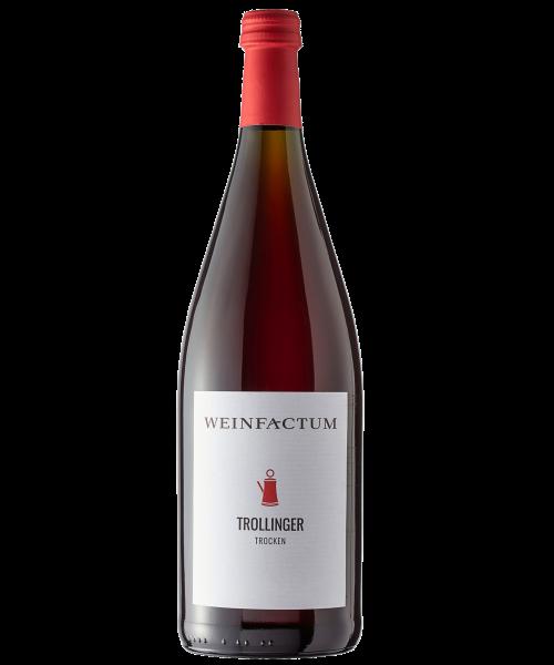 2016 Trollinger trocken 1l Weinfactum Bad Cannstatt