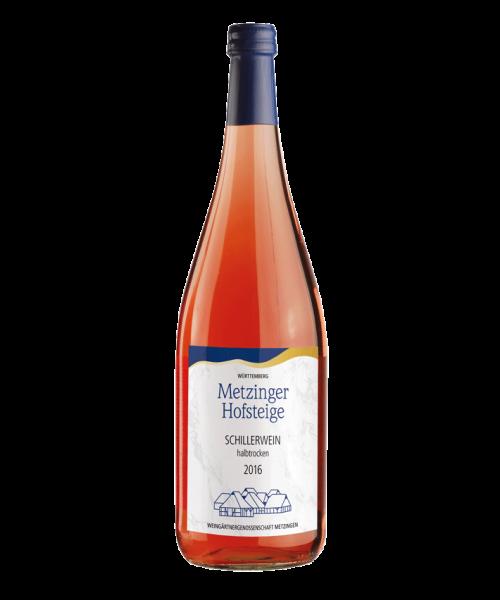2016 SCHILLERWEIN HALBTROCKEN Metzinger Wein