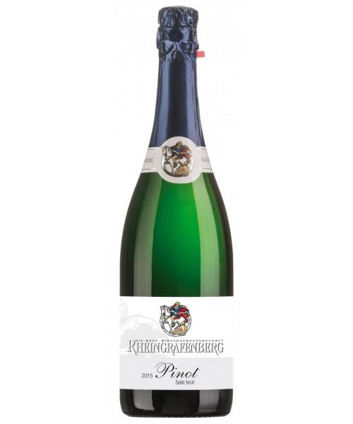 2016er Sekt Pinot brut Burgunder-Cuvèe Winzergenossenschaft Rheingrafenberg