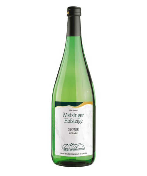 2018 SILVANER HALBTROCKEN 1l Metzinger Wein