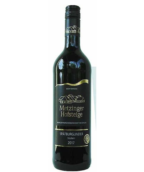 2018 SPÄTBURGUNDER TROCKEN Metzinger Wein