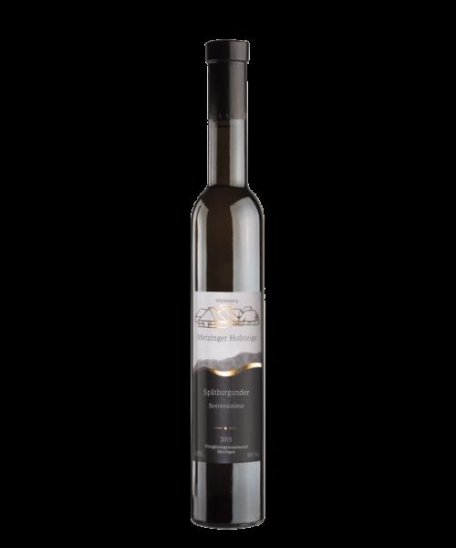 2015 SPÄTBURGUNDER EDELSÜSS BEERENAUSLESE Metzinger Wein