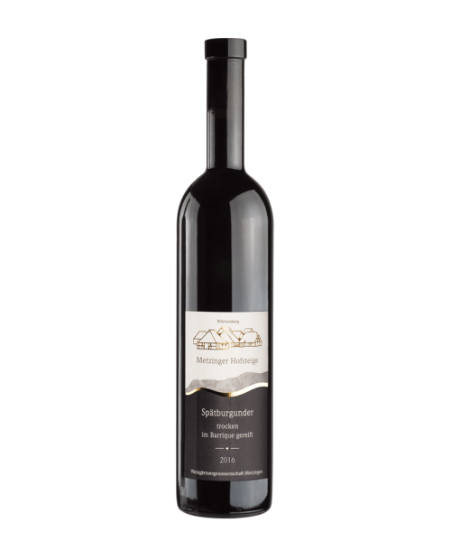 2016 SPÄTBURGUNDER TROCKEN Barrique Metzinger Wein