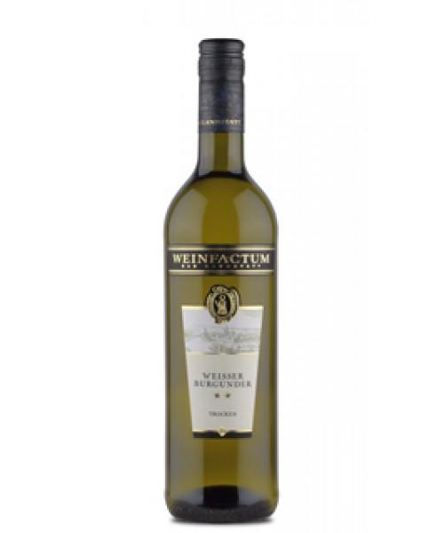 2017 Weißer Burgunder ✯✯ trocken Weinfactum Bad Cannstatt