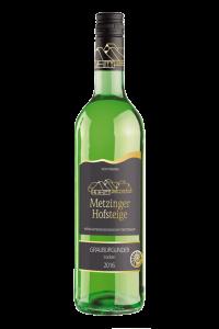 2016 GRAUBURGUNDER TROCKEN Metzinger Wein