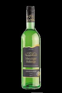 2017 GRAUBURGUNDER TROCKEN Metzinger Wein