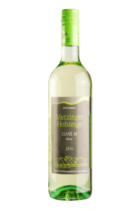 2016 CUVÉE M BLANC HALBTROCKEN Metzinger Wein