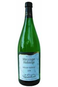 2018 MÜLLER-THURGAU HALBTROCKEN Metzinger Wein