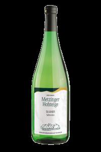 2018 SILVANER HALBTROCKEN Metzinger Wein