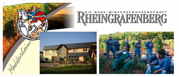 Winzergenossenschaft Rheingrafenberg - traditionsreiche Weine von der Nahe